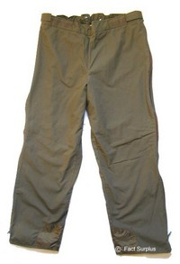 German Army Winter Trousers