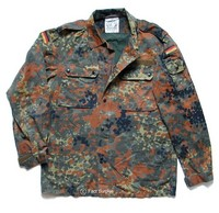 Flecktarn Camo Fatigue Shirt / Jacket