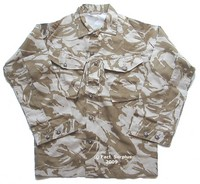 British Army Desert Camo Shirt / Jacket