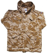British Army Desert Camo Windproof Smock