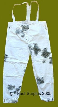German Army Reversible Snow Camo Trousers