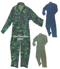 Blue Overalls / Coverall