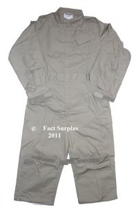 British Lightweight Stone Coverall Overalls