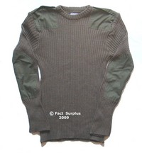 British Army Green Jumper Pullover