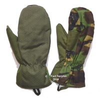 British Army Arctic Mittens With Trigger Finger