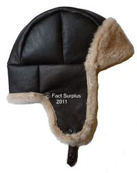 Genuine Sheepskin Flying Helmet