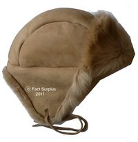 Ladies Sheepskin Flying Hat