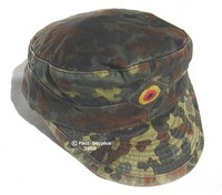 German Army Flecktarn Fatigue Cap