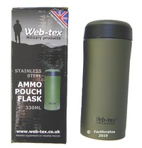 Web-tex Ammo Pouch Flask