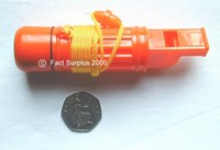 Orange Survival Whistle