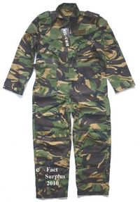 Kids British DPM Flying Suit Overalls