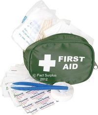 Small Travelling First Aid Kit