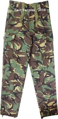 Kids Soldier 95 Style Combat Trousers